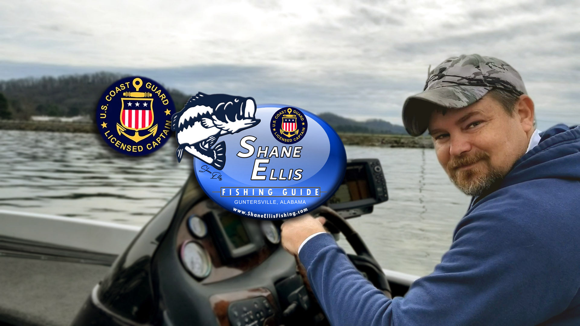 Shane Ellis the Fisherman the Captain